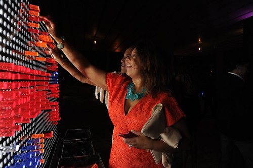 Barbara Becker & Jessica Sirmans at PAMM Art of the Party