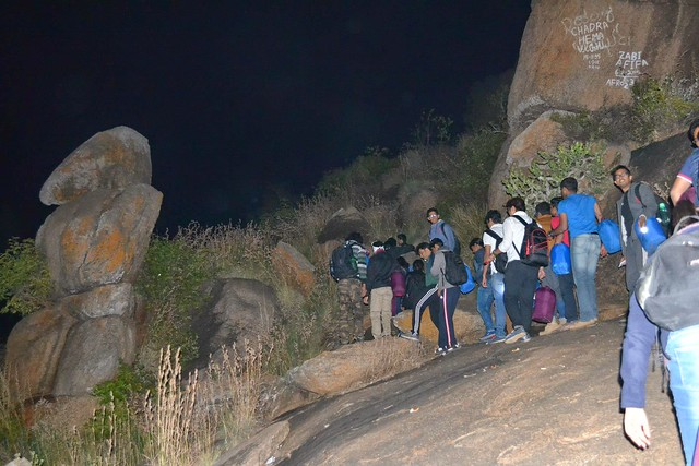 Night Trekking at Kunti Betta Bangalore