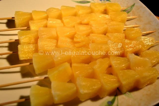 Brochettes de Dinde au Curry Rouge et Ananas © Ana Luthi Tous droits réservés 0005