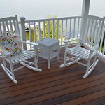 DuraLife decking in Brazilian Cherry