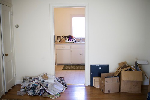 moving into my apartment