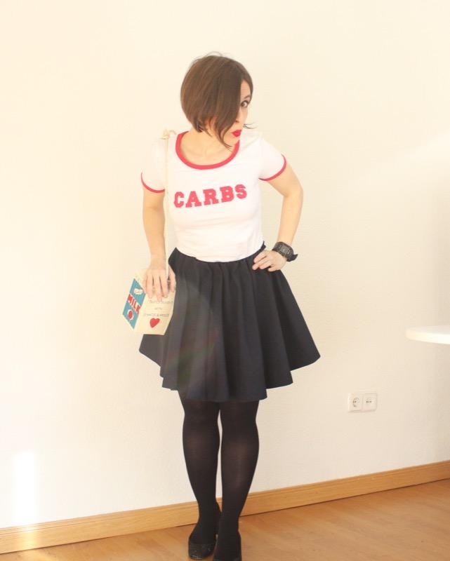 Outfit carbs tshirt