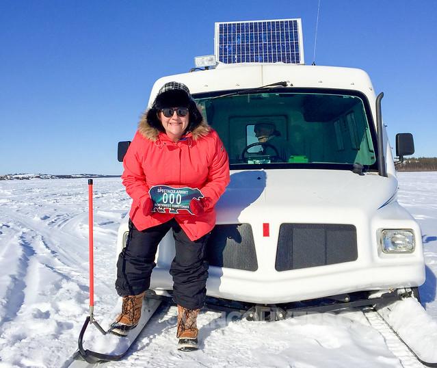 Ice fishing with Snobear-1