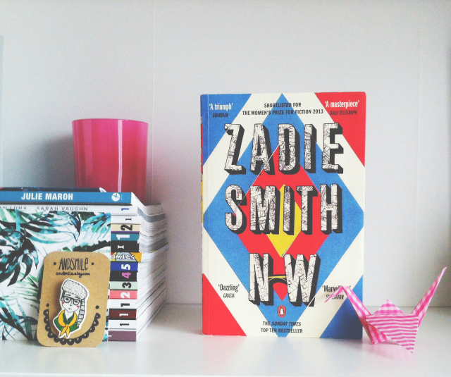 uk book blogger vivatramp zadie smith