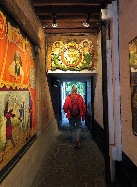 Toone Historical Pub in Brussels, Belgium