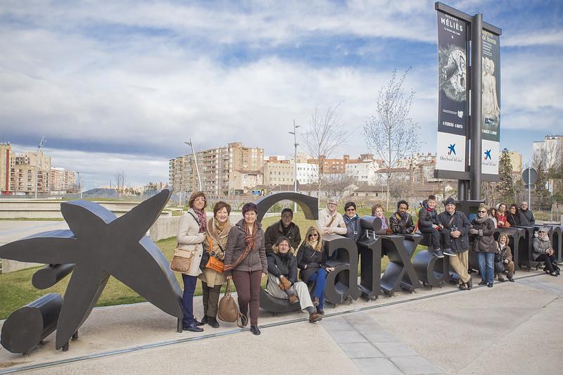 FeZ - Visita guiada Caixaforum Zaragoza - Kinojam