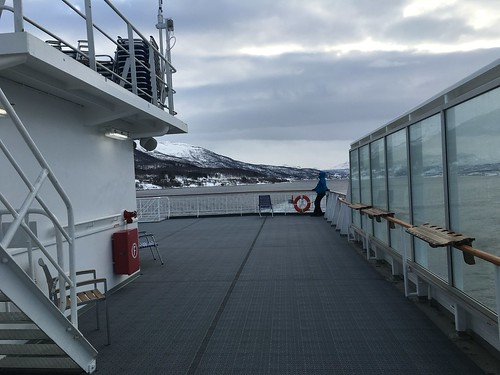 4 Mar - Inside Kong Harald - Sun deck