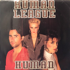 HUMAN LEAGUE:HUMAN(JACKET A)