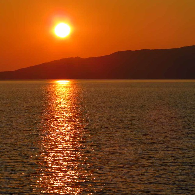 May 30 sunset view from Agia Marina beach IMG_1214