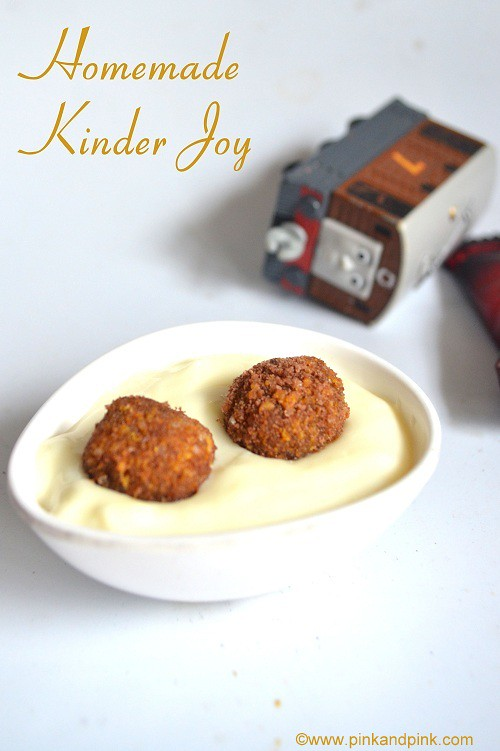 kinder joy recipe