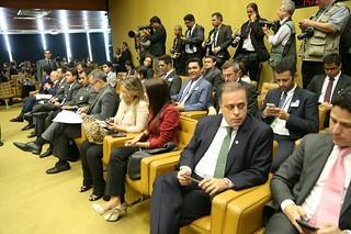 Líderes do Solidariedade acompanham a votação do rito de impeachment de Dilma no STF
