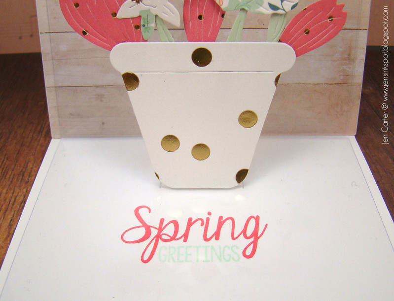 Jen Carter Spring Pop Up Inside Sentiment