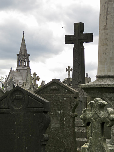 Glasnevin, a historical Victorian Cemetery in Dublin, Ireland