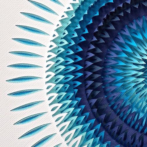 Handcut Paper Art by Clare Pentlow
