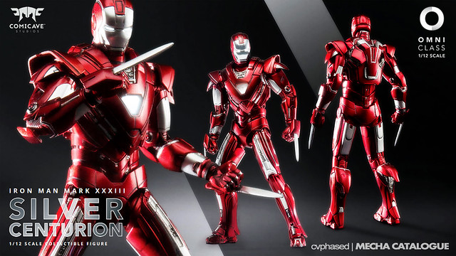 "Comicave Studios - Omni Class 1/12 Iron Man Mark 33 ""Silver Centurion"""