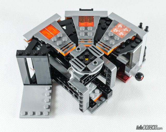 REVIEW LEGO Star Wars 75137 Carbon-Freezing Chamber 18 (HelloBricks)