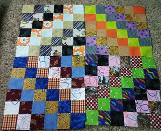 More Trip around the world blocks.  Seven more in the last week.