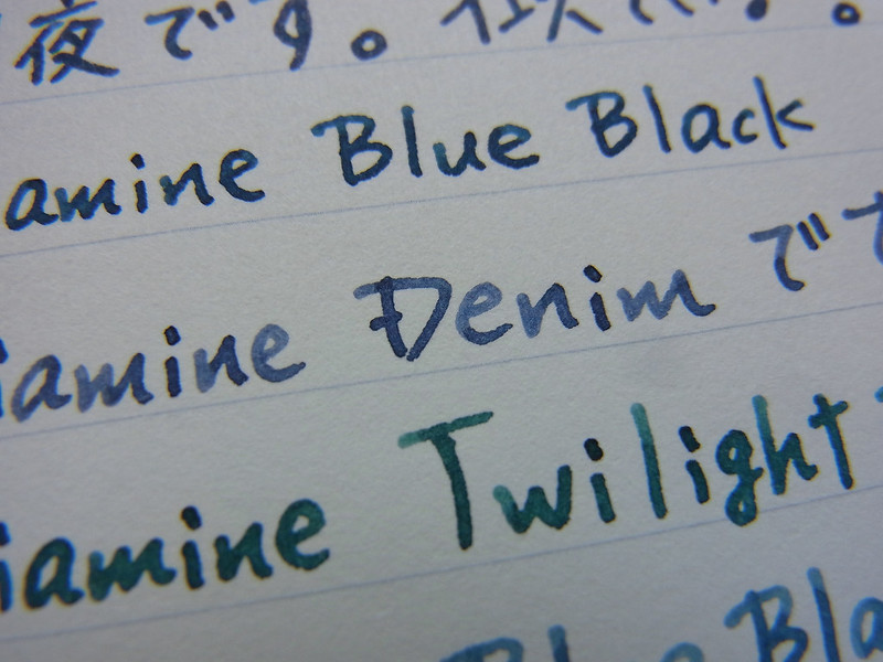 Diamine Denim (Incidentally)