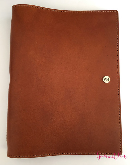 Review @WilliamHannahUK Whiskey & Kingfisher Leather Notebook (24)