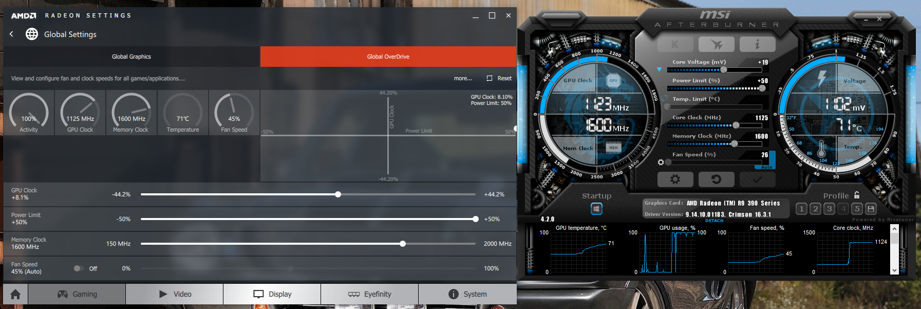 AMD GPU Overclocking Guide, Crimson Drivers, and Discussion