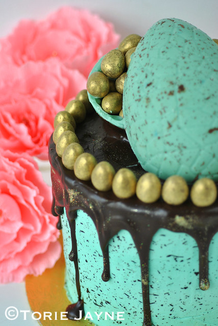 Gluten Free Chocolate layered Easter Cake Recipe 17