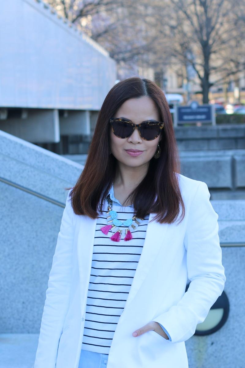 Banana-Republic-white-blazer-oversized-sunglasses-9