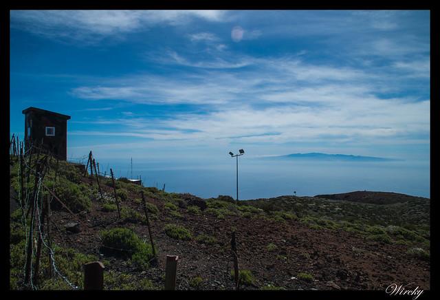 Tenerife Parque Nacional Teide Valle la Orotava - Vistas desde el Observatorio Astrofísico del Teide