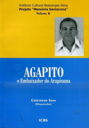 Capa do livro do AGAPITO