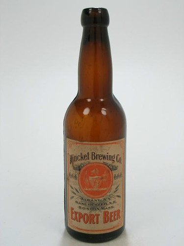 Export-Beer-Bottles-Paper-Label-Hinckel-Brewery-Co-Cataract-Brewery