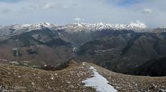 Monte Patino per la cresta orientale (Sibillini)