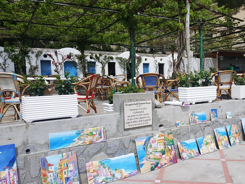 Positano paintings