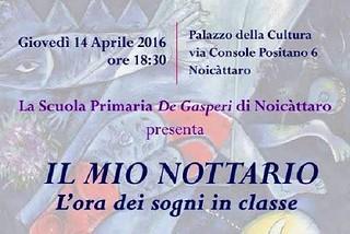 Noicattaro. Progetto espressione creativa De Gasperi front