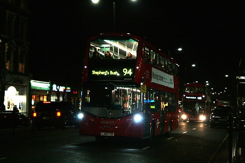 London United VH45155 on Route 94, Notting Hill Gate