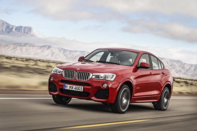 [新聞照片三]BMW X4搭載M款跑車化套件