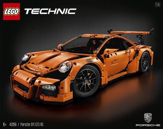 LEGO Technic 42056 Porsche 911 GT3 RS