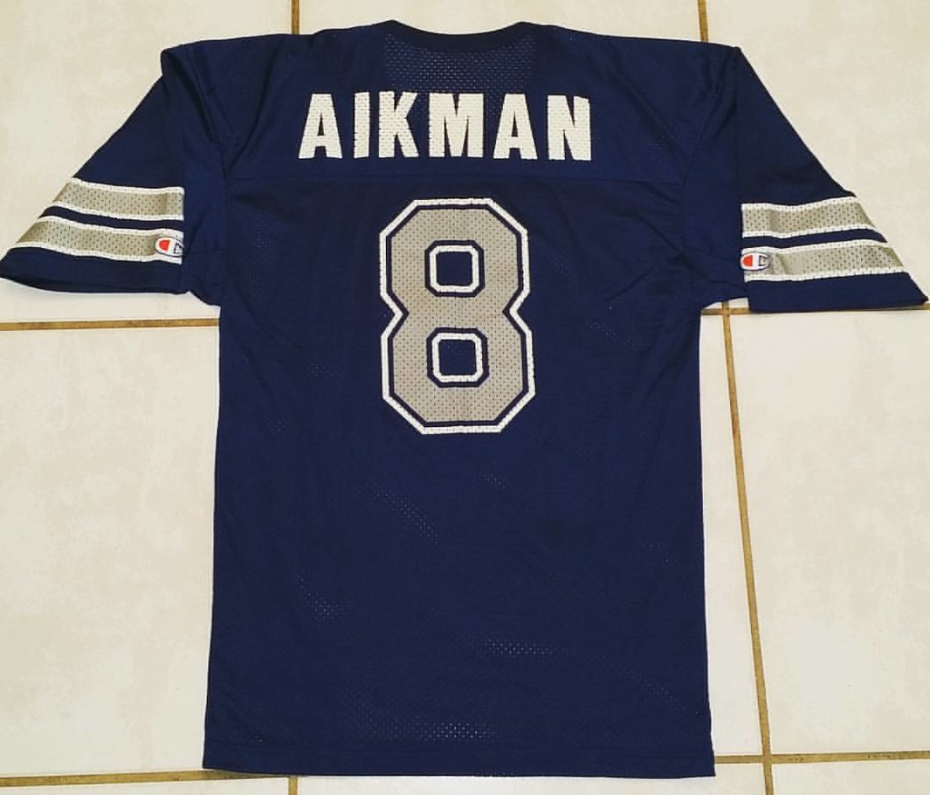 6364f883 ... Vintage CHAMPION Dallas Cowboys Troy Aikman NFL Jersey #nfl#dallas# dallascowboys#cowboysnation