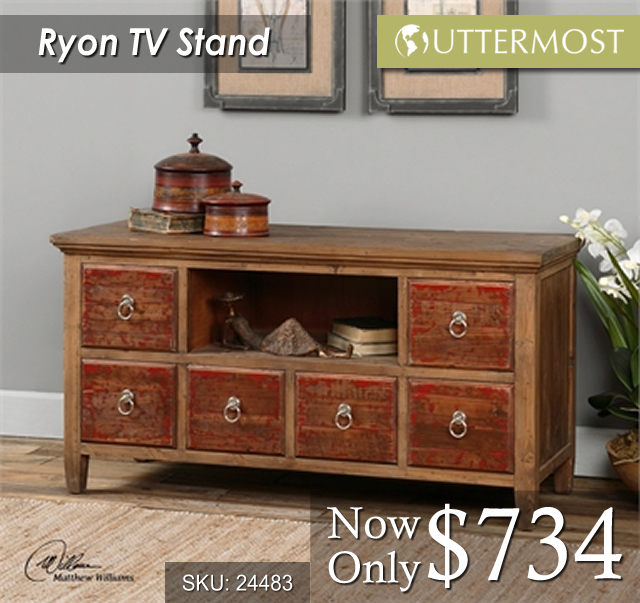 24483 -- Ryon TV stand $734
