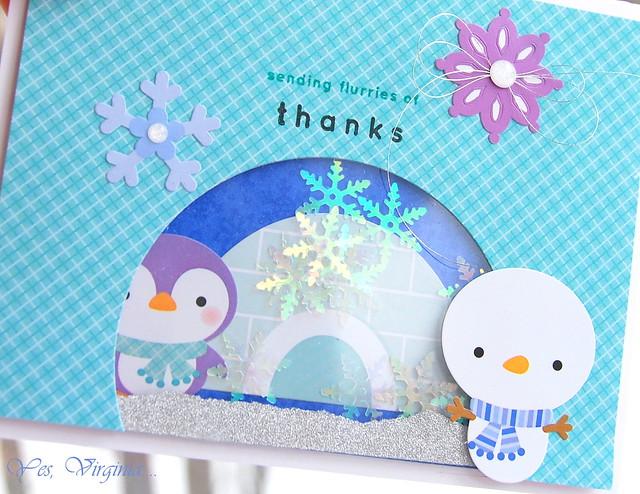 sending flurries of thanks