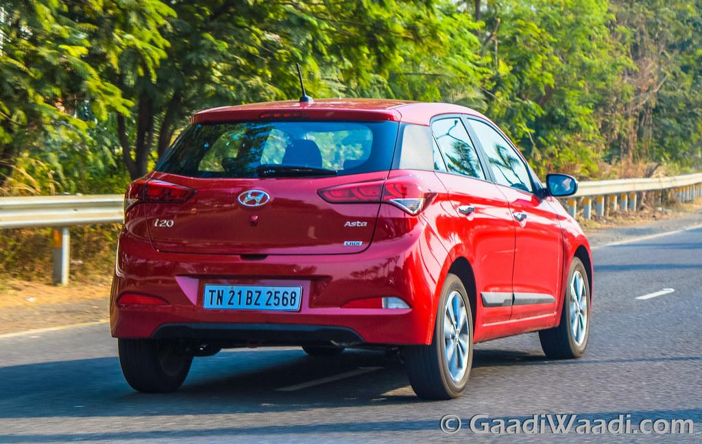Hyundai Elite i20 AVN Test drive review-44