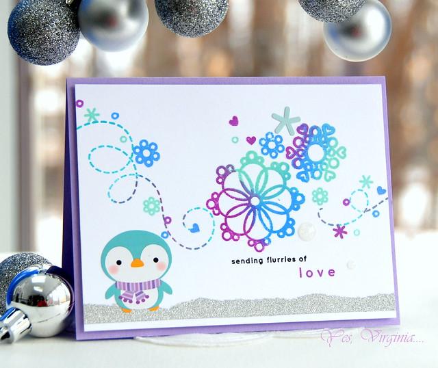 Sending flurries of love
