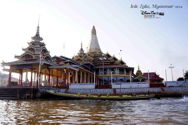 Inle Lake -  Phaung Daw Oo Pagoda