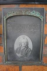 Photo of Bank Hall, Warrington, James Gibbs, Thomas Patten, and Town Hall, Warrington black plaque