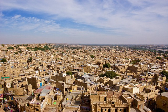 Jaisalmer city panorama