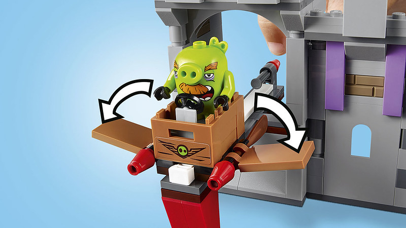LEGO Angry Birds Movie 75286 - King Pig's Castle