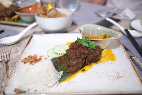 wagyu beef rendang. Saturday night dinner at The Clifford Pier
