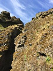 The top of Raudafeldsgja canyon