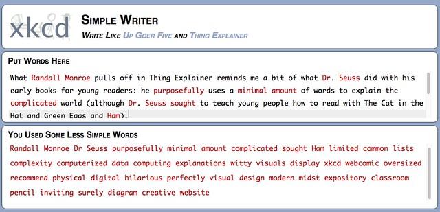 Using SimpleWriter