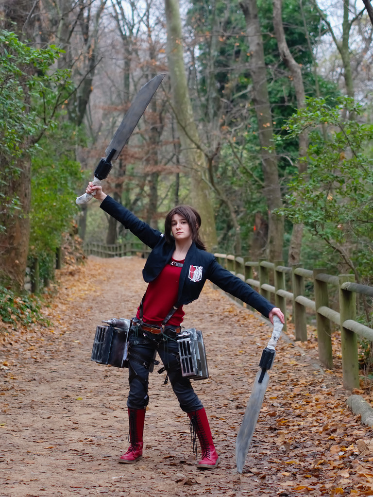 related image - Shooting Shingeki no Kyojin - Parc de Saint Pons - Gemenos - 2015-12-19- P1260367