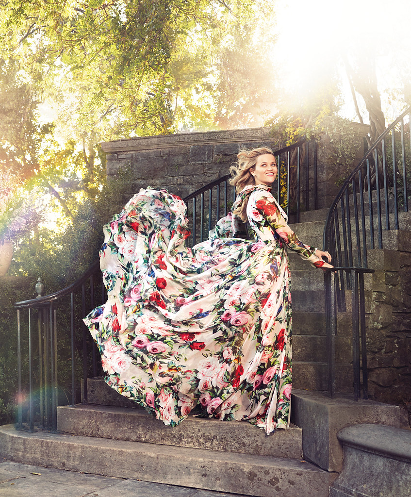 Риз Уизерспун — Фотосессия для «Harper's Bazaar» 2016 – 3
