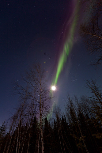 012016 - Shot of Aurora through the Moon